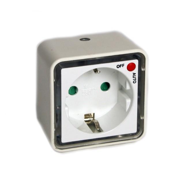 LED Nachtlicht Nachtbeleuchtung Nacht-Licht mit Zwischenstecker + Dämmerungssensor